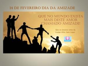Cartão dia da Amizade